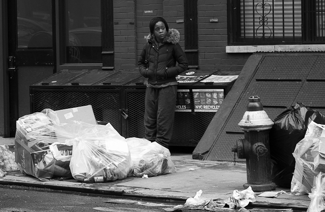 East Village trash day