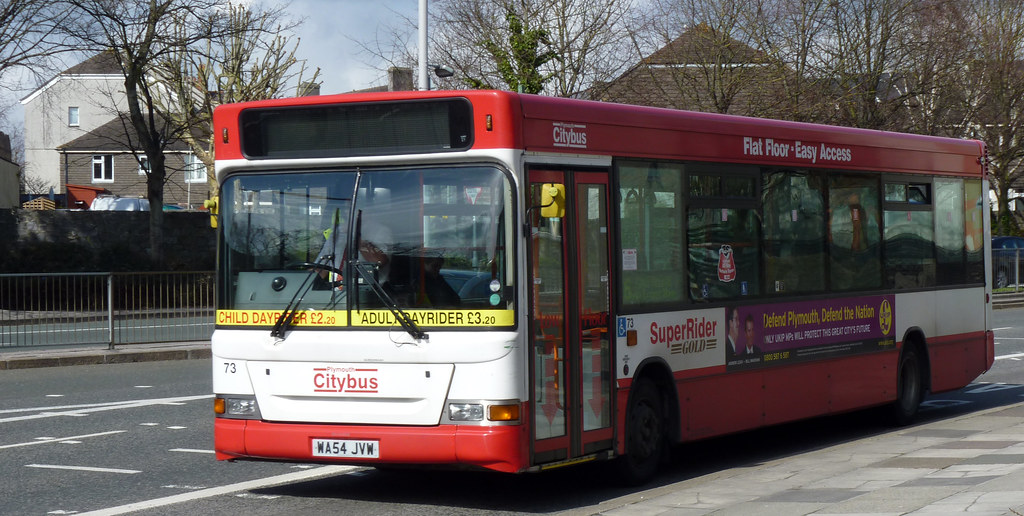 Plymouth Citybus 073 WA54JVW