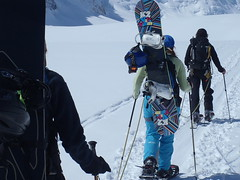 Aufstieg... (mboelli) Tags: skitour lötschenlücke