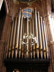 organ pipes
