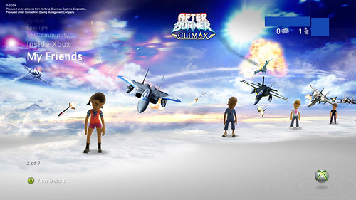 After Burner Climax - Xbox 360 Theme