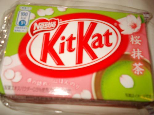 Kit Kat Sakura Matcha
