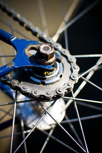 Clean sprockets