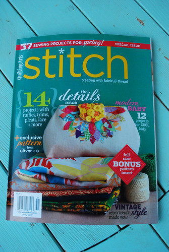 Stitch magazine Spring 2010