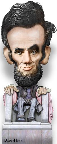 Abraham Lincoln, memorial on flickr