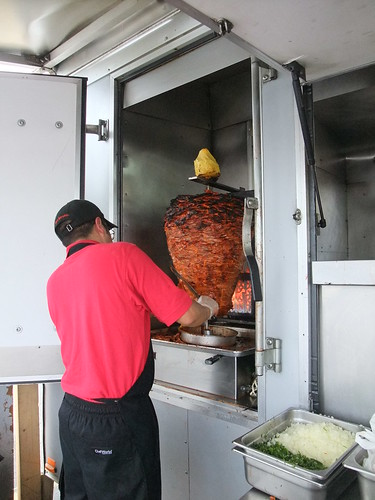 Spit Roasted Al Pastor from Los Guachos