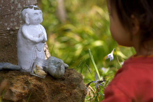 Jizo Bodhisattva & A Boy, Kamakura