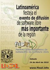 Poster FLISOL_2010