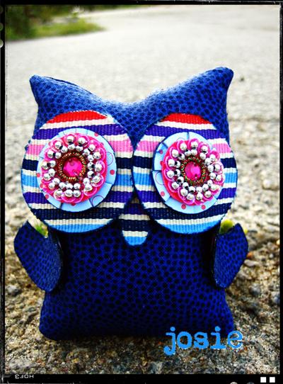 *Josie* Owl Giveaway