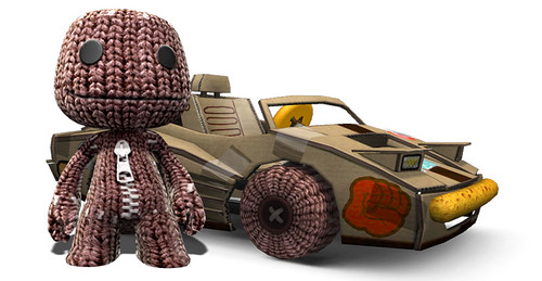 ModNation Rackers gets Sackboy!