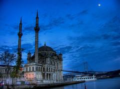 Ortaköy Camii - Mosque of Sultan Abdülmecid - HDR