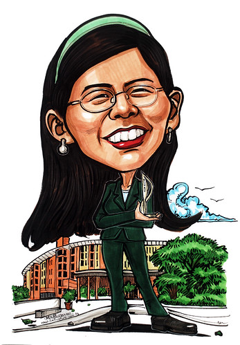 Property manager caricature