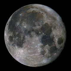 Fullish Moon 4/29/10 (zAmb0ni) Tags: sky moon night full telescope astrophotography astronomy celestron
