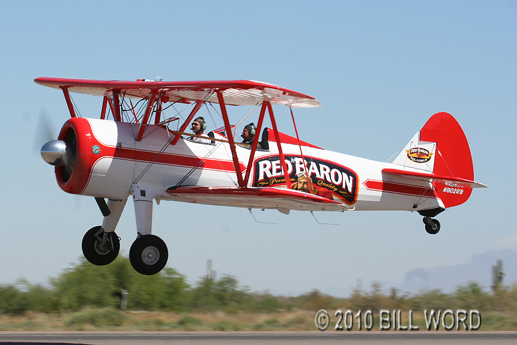 Red Baron Pizza Plane