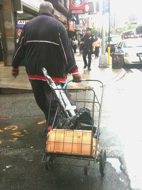 umbrella guy #walkingtoworktoday