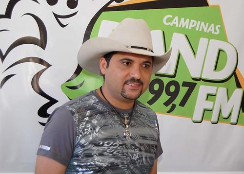 Edson no Mega Show 2010 (Crédito: Fábio Alexandre)
