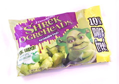 Shrek Ogreheads Marshmallow Treats Bag