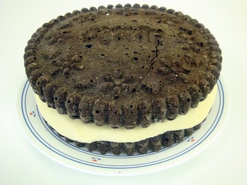 Cookie Cake made from mix1