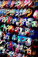 who do you want to be today? (elmofoto) Tags: san francisco wrestling masks mission 1870 luchadores afsdxzoomnikkor1870mmf3545gifed ssfmlm elmofoto lorenzomontezemolo