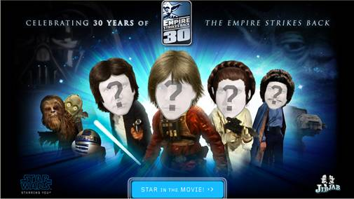 LucasFilm and JibJab partner to celebrate the 30th anniversary of The Empire Strikes Back