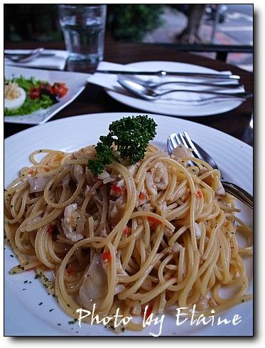 蒜炒鮮魚義大利麵