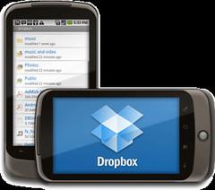 Dropbox auf Android, gefunden am 12.12.2010, 14:41, URL siehe unten