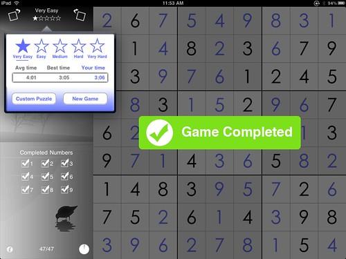 UniSudoku.iPad.screenshot