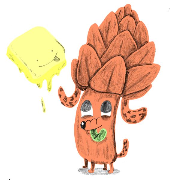 artichoke dog