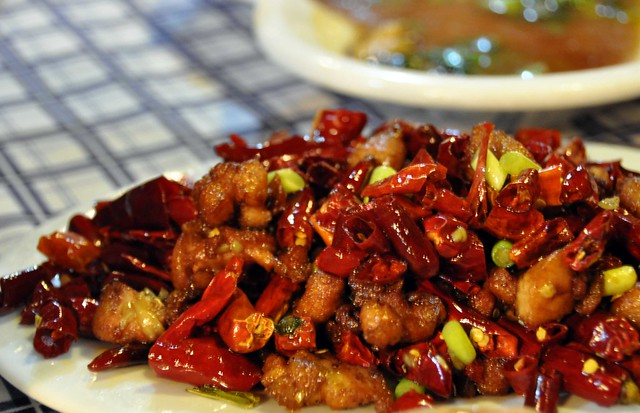 辣子鸡 (Spicy Fried Chicken)