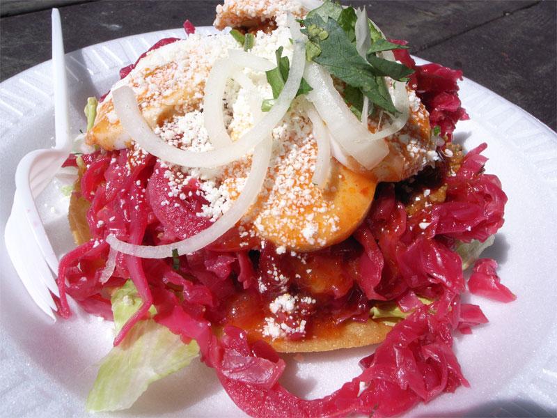 Guatemalan enchilada