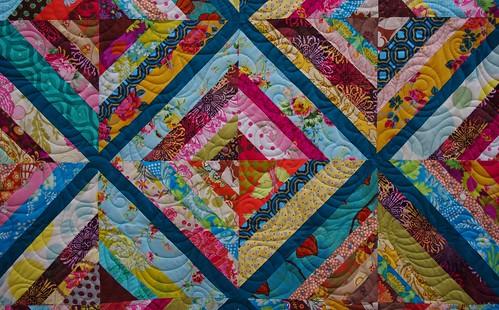 Quilts on Bastings: Kaleidoscope String Quilt : string quilt tutorial - Adamdwight.com