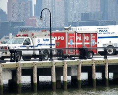 PAPD Port Authority Police and Rescue Vehicles, Hoboken NJ (jag9889) Tags: port truck airplane newjersey crash authority nj police special helicopter vehicle operations midair emergency 2009 department lawenforcement hoboken recovery finest portauthority hudsoncounty papd y2009 12thstreetpier jag9889