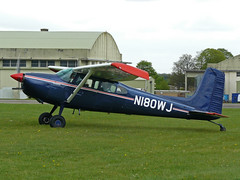 N180WJ (QSY on-route) Tags: kemble egbp gvfwe greatvintageflyingweekend n180wj 09052010