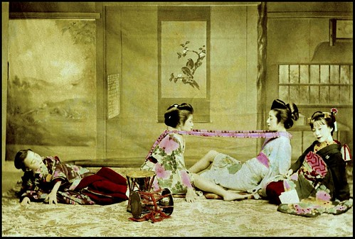 Old japanese lesbian