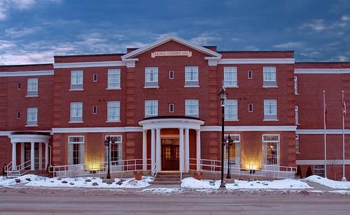 Hotel Champlain, Quality Inn, downtown Orillia