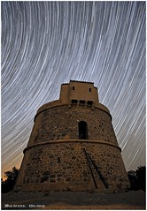 4140 Seconds.... (Dani_ibizA) Tags: tower night noche nikon long exposure torre nissan dani des ibiza eivissa patrol exposicion startrails larga inma pou lleo d700 campanitx