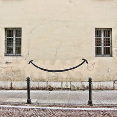 Smile... (Village9991) Tags: windows italy smile wall nice graffito simple brescia iseo