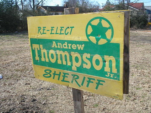 Andrew Thompson Jr. sheriff