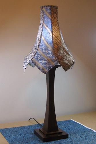 Necktie Lampshade