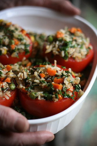 Stuffed Tomatoes of Yumness