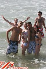 IMG_0016 (Streamer -  ) Tags: ocean family friends boy sea people sun man beach girl smile kids fun israel women couple suit teen bikini bathing  streamer     ashkelon