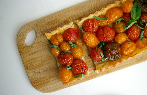 Sliced Tomato Tart