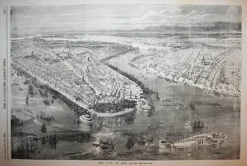 New York City in 1855