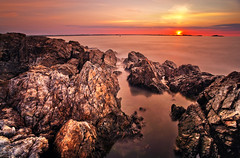 Marblehead Sunrise (chris lazzery) Tags: longexposure sunrise marblehead massachusetts 5d canonef1740mmf4l chandlerhoveypark bw30nd