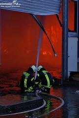 Lagerhallenbrand Flörsheim-Wicker 23.05.10