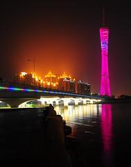 Guangzhou TV & Sightseeing Tower (DeeMakMak) Tags: guangzhou catchycolors skyscrapers canton mainlandchina 5photosaday supertallbuildings guangzhoutvsightseeingtower guangzhoutower
