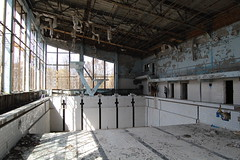 Recreation center in Prypiat (bousinka) Tags: nuclear ukraine disaster april 1986 2010 chernobyl
