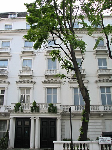 Fake houses in Leinster Gardens