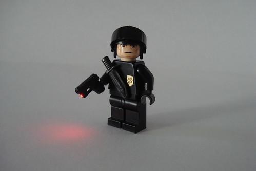 SWAT Team custom minifig