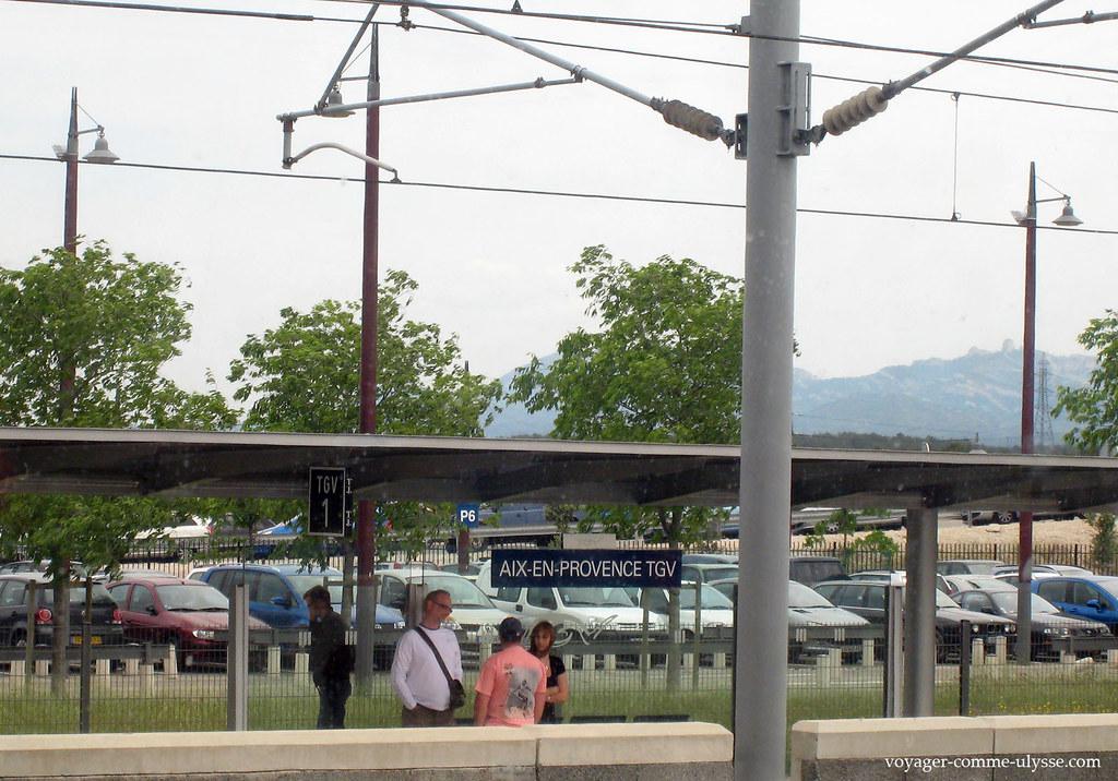 Gare d'Aix-en-Provence TGV